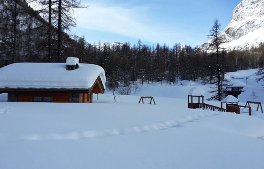 Feb 2016 - Foto scattata nei pressi del rifugio Pellaud